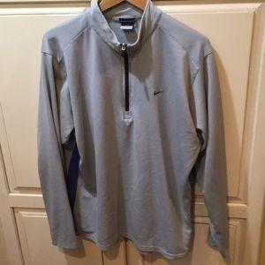 Nike dri fit fleece quarter zip sweatshirt xl